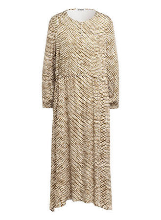 Drykorn  Kleid Calsey gruen braun