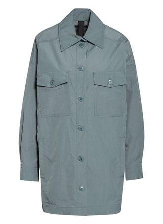 Drykorn  Overshirt Nasim gruen grau