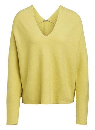 Drykorn  Pullover Feline gelb orange