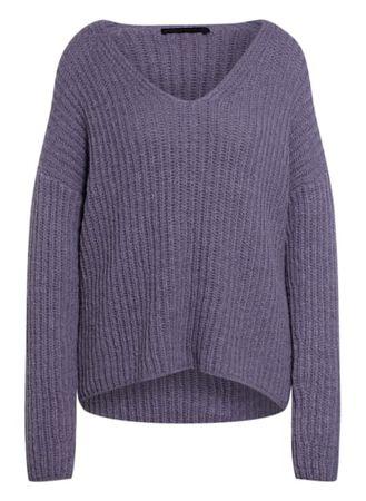 Drykorn  Pullover Linna Mit Alpaka violett grau