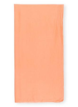 Drykorn  Schal Freeze orange weiss