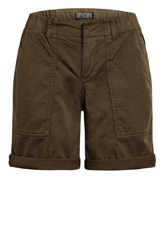 Drykorn  Shorts Survival gruen braun