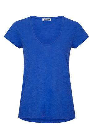 Drykorn T-Shirt  AVIVI blau