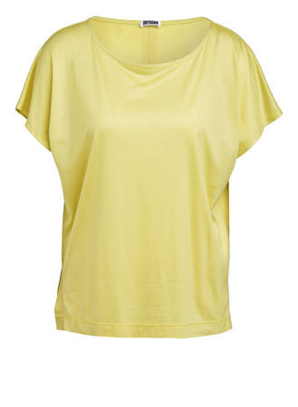 Drykorn  T-Shirt Kimana gelb gruen