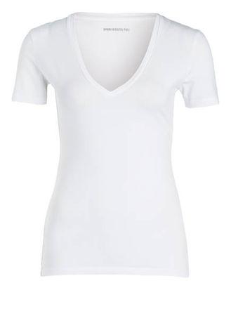 Drykorn  T-Shirt Linara weiss grau