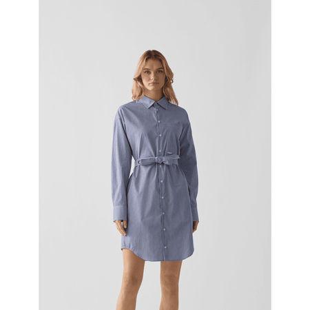 Dsquared2 Blusenkleid mit Taillengürtel