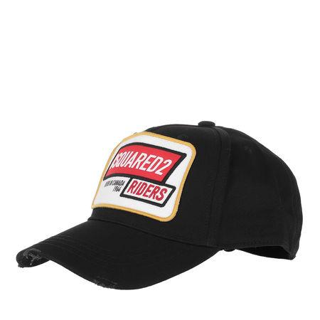 Dsquared2  Caps  -  Riders Baseball Cap Black  - in schwarz  -  Caps für Damen schwarz