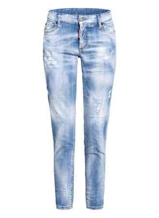 Dsquared2  Destroyed Jeans Jennifer blau blau