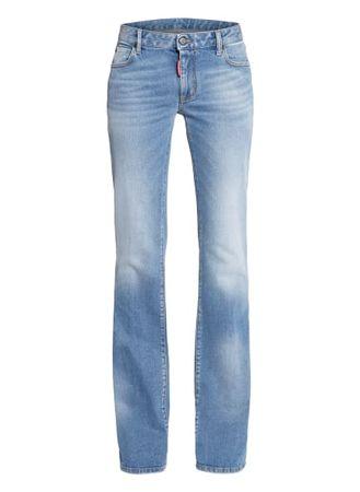 Dsquared2  Flared Jeans blau grau