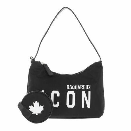 Dsquared2  Hobo Bag - Icon Hobo Bag - in black - für Damen