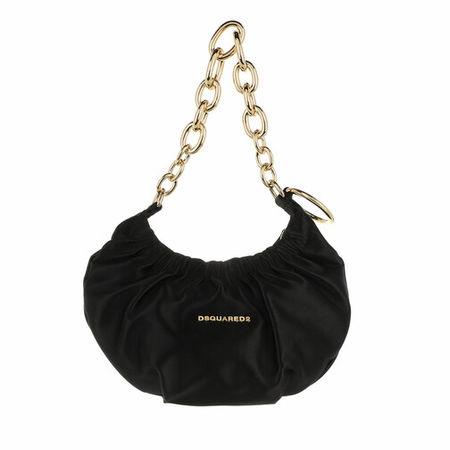 Dsquared2  Hobo Bag - Mini Chain Hobo Bag - in schwarz - für Damen