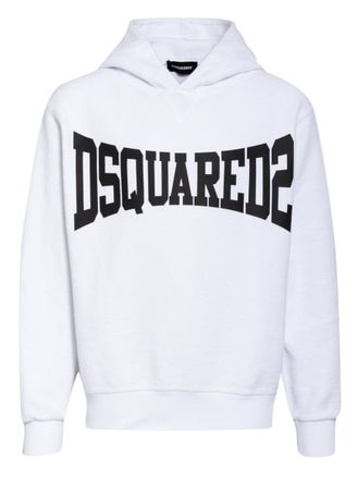 Dsquared2  Hoodie weiss lila