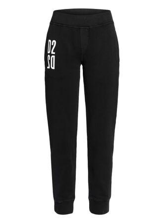 Dsquared2  Hose Im Jogging-Stil schwarz schwarz