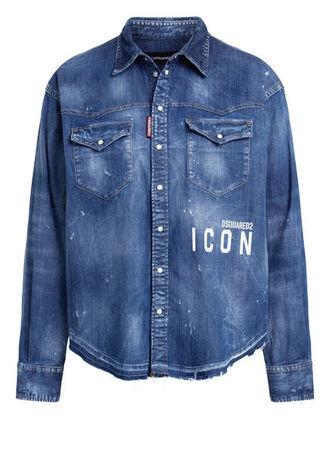 Dsquared2  Jeans-Overshirt blau blau