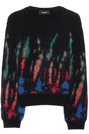 Dsquared2  Knit Multicolor Damen Schwarz schwarz