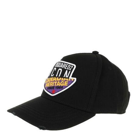 Dsquared2  Mützen - Canadian Heritage Branded Baseball Cap - in schwarz - für Damen