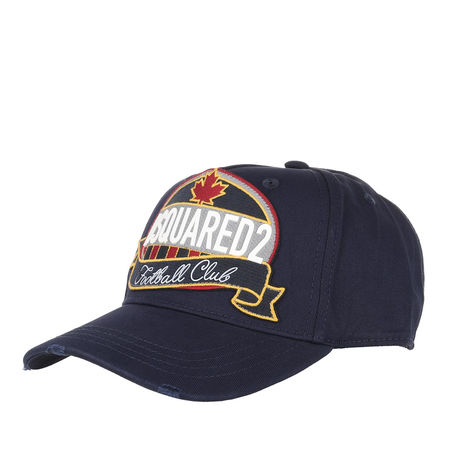 Dsquared2  Mützen - Football Club Cap - in blau - für Damen grau