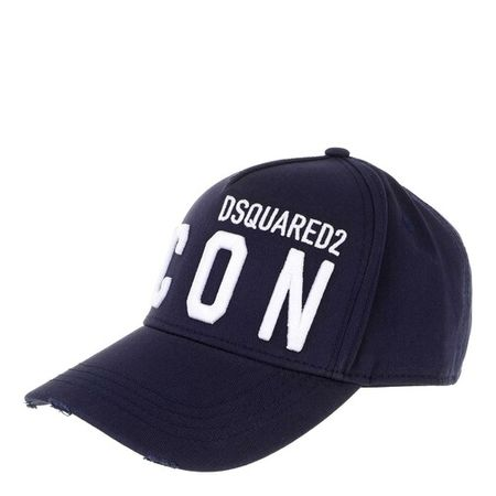Dsquared2  Mützen - Icon Baseball Cap - in blau - für Damen