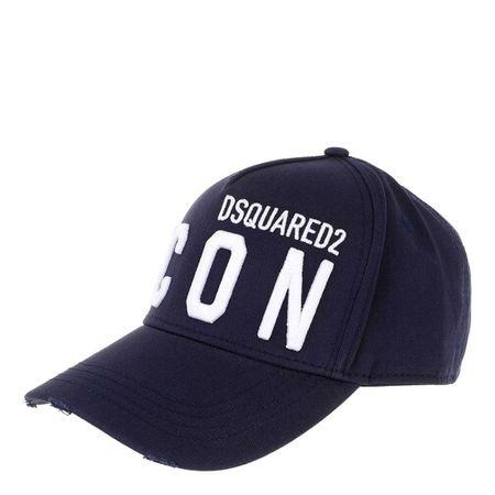 Dsquared2  Mützen - Icon Baseball Cap - in navy - für Damen