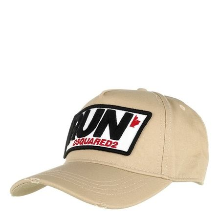 Dsquared2  Mützen - Run Cargo Baseball Cap - in beige - für Damen