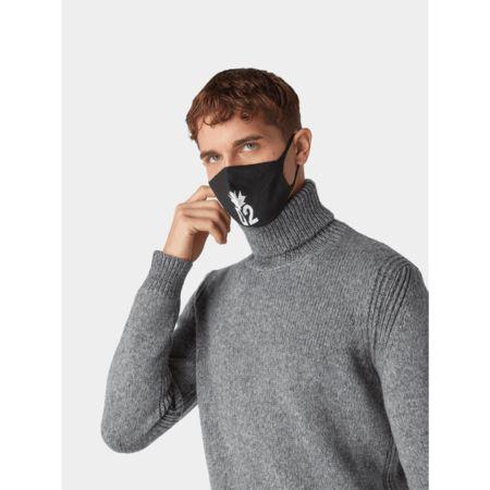 Dsquared2 Mund-Nasen-Maske mit Label-Detail