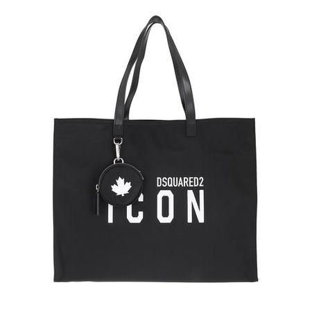 Dsquared2  Shopper - Icon Shopping Bag - in black - für Damen