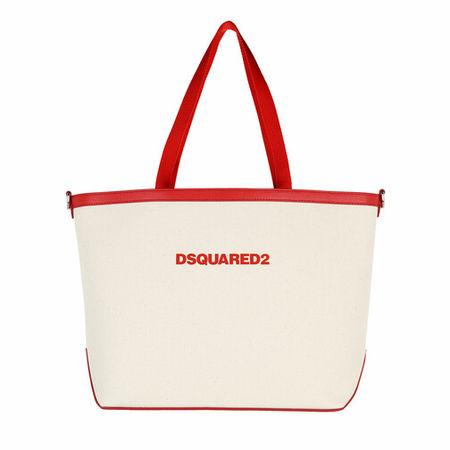 Dsquared2  Shopper - Large Shopping Bag - in beige - für Damen