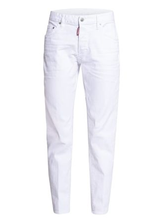 Dsquared2  Skinny Jeans weiss lila