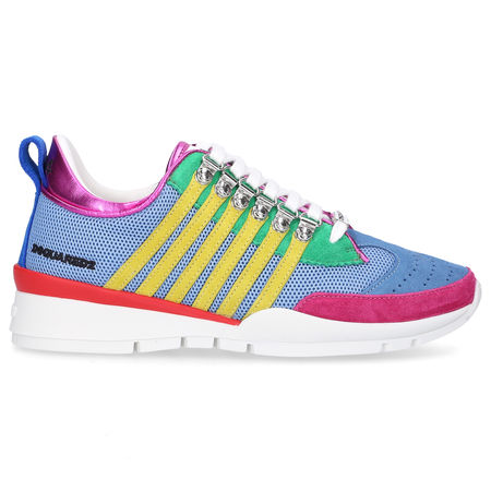 Dsquared2 Sneaker low 251 Kalbsleder weiss