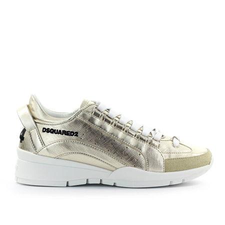 Dsquared2 Sneaker low 551 Kalbsleder Logo gold