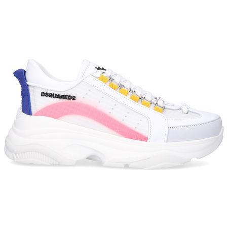 Dsquared2 Sneaker low BUMPY 551 Kalbsleder Logo weiß-kombi weiss
