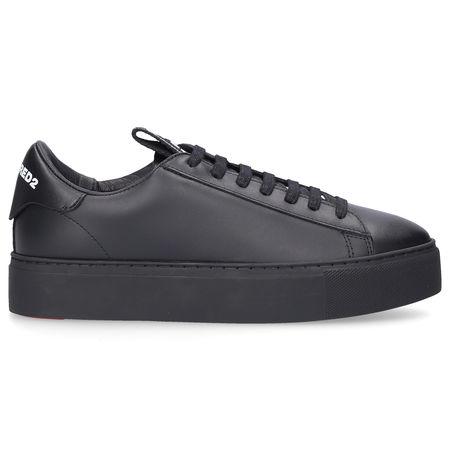 Dsquared2 Sneaker low EVOLUTION TAPE Kalbsleder Logo schwarz