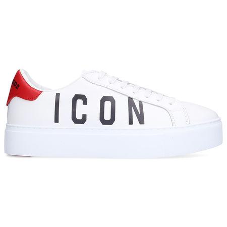 Dsquared2 Sneaker low NEW TENNIS Kalbsleder