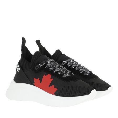 Dsquared2  Sneakers - Canada Lace Up Sneakers - in black - für Damen schwarz