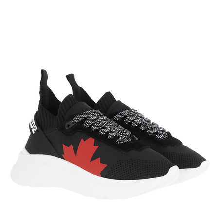 Dsquared2  Sneakers - Canada Lace Up Sneakers - in schwarz - für Damen schwarz