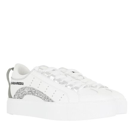 Dsquared2  Sneakers - High Box Sole Sneakers Leather - in weiß - für Damen