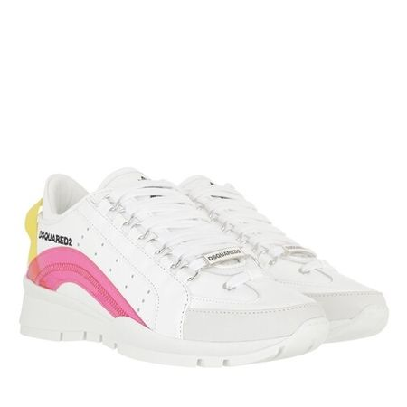 Dsquared2  Sneakers - Lace Up Sneakers - in white - für Damen