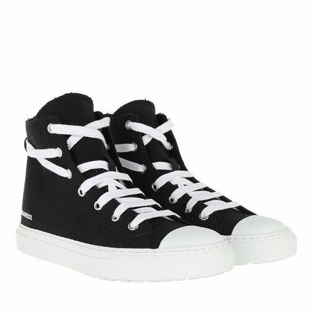 Dsquared2  Sneakers - Logo Print Lace Up Sneaker - in black - für Damen