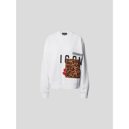 Dsquared2 Sweatshirt mit Brand-Detail