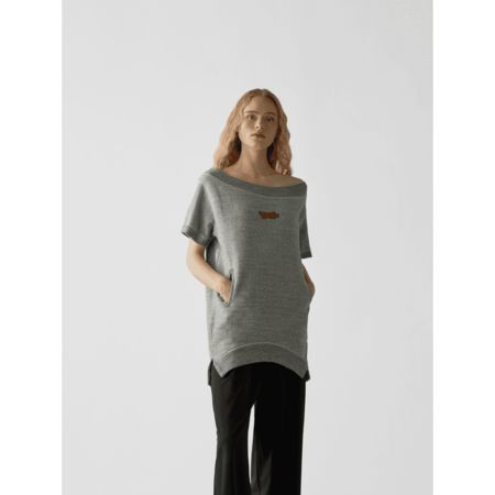 Dsquared2 Sweatshirt mit kurzen Ärmeln