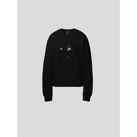 Dsquared2 Sweatshirt mit Label-Detail