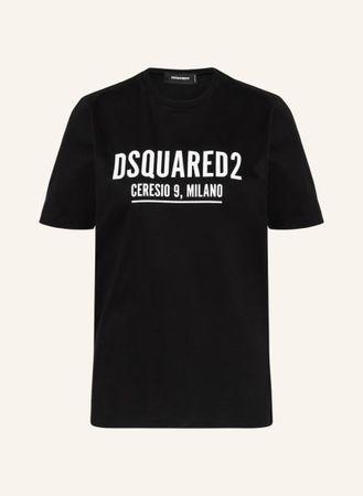 Dsquared2  T-Shirt Ceresio Renny schwarz