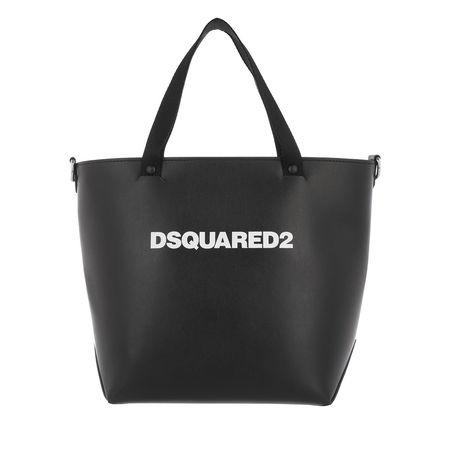 Dsquared2  Tote - Logo Print Bucket Bag - in schwarz - für Damen grau