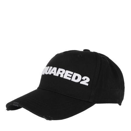 Dsquared2  Tücher & Schals - Embroidered Cargo Cap - in schwarz - für Damen