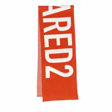 Dsquared2  Tücher & Schals - Logo Scarf - in red - für Damen