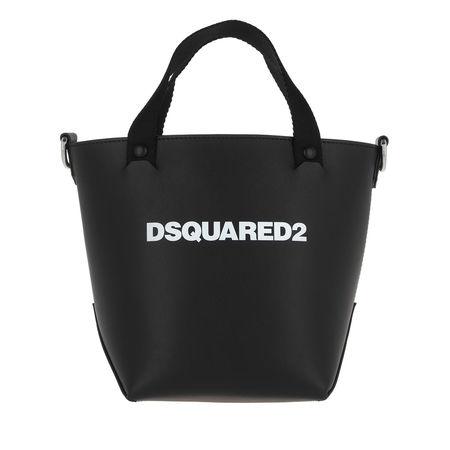 Dsquared2  Umhängetasche  -  Mini Logo Tote Black  - in schwarz  -  Umhängetasche für Damen schwarz