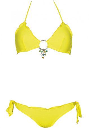 Eau Vive Triangle Bikini gelb