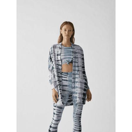 Electric & Rose Sweatjacke mit Batik-Muster