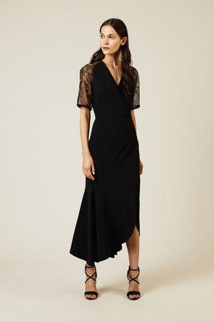Elie Saab  - Abendkleid mit Lace-Details Schwarz braun