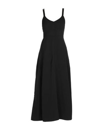 Elizabeth and James  34 Damen Schwarz Langes Kleid Viskose, Elastan, Polyester schwarz